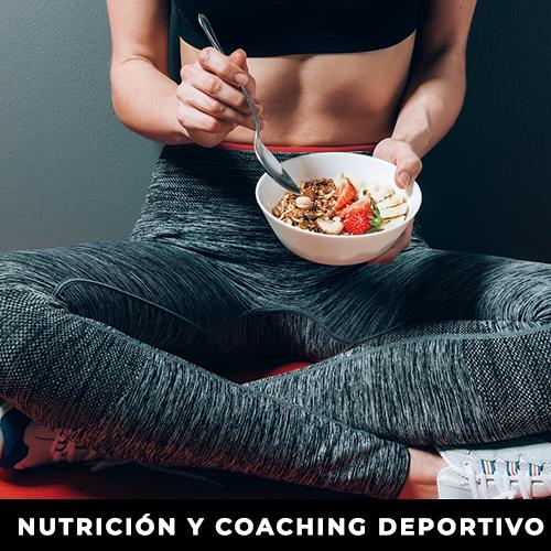 Nutrición y coaching deportivo